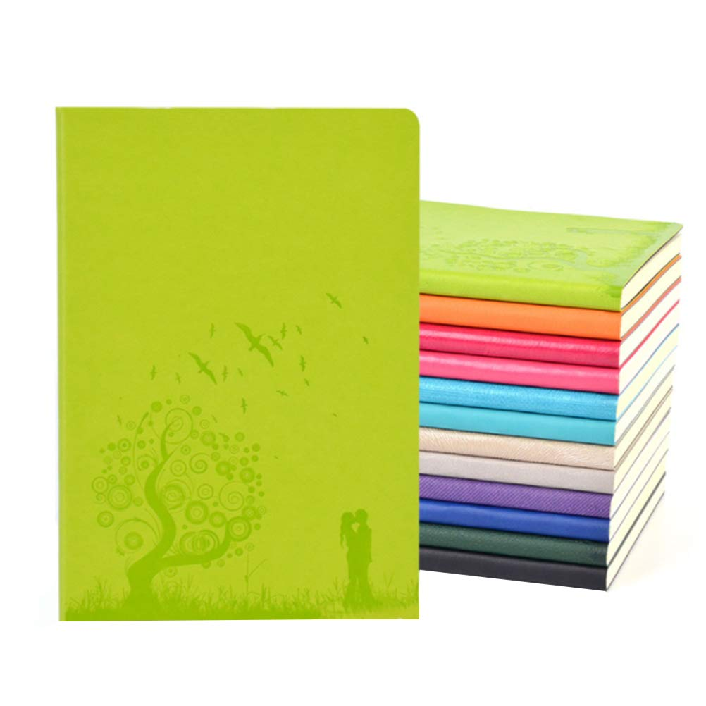 1 x Da.Wa Notebook A5 Lined Coil Notebook Office Supplies Holiday Gift Souvenir Notepad Student Stationery Journal Portable Word Book Random Color