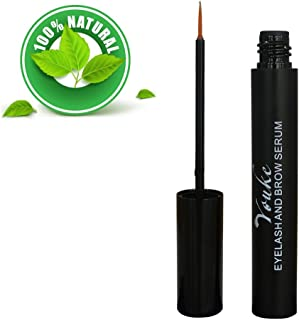Eyelash Growth Serum 6 ml - Eyelash Enhancing Growth Serum for Thicker and Fuller Eye Lashes All Natural Eyelash Treatment For Lashes & Brows