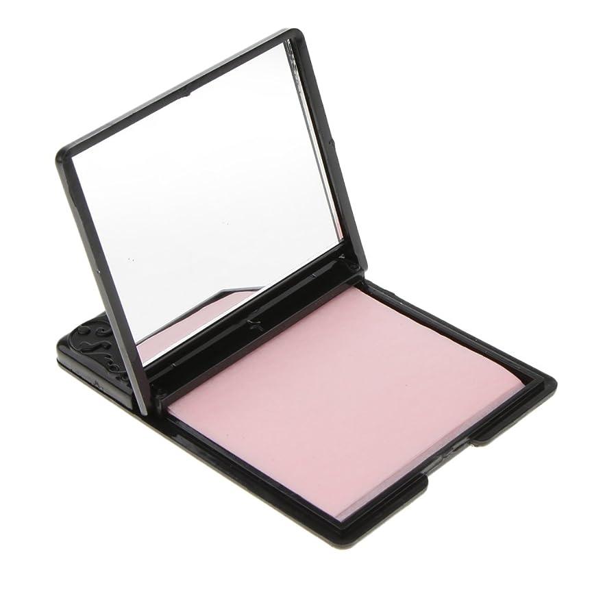 ガチョウ入る自体Sharplace ミラーケース 化粧鏡 あぶらとり紙 約50枚 メイクアップ スキンケア