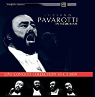 In Memoriam live concert collection 10 CD box set by Luciano Pavarotti (2013-05-03)