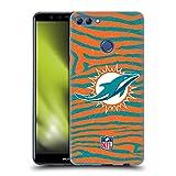 Head Case Designs sous Licence Officielle NFL Empreinte de zèbre Miami Dolphins Art Coque en Gel...