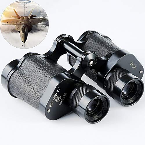 DongZhou Potentes binoculares Militares 8X30 HD telescopio Binocular de Largo Alcance Bolsa de Cuero para Caza LLL visión Nocturna