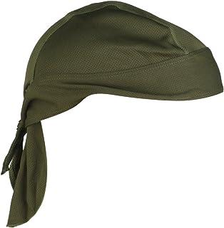comprar comparacion Pañuelo Cabeza Bufanda Sombrero Pirata Anti-ultravioleta Del Cierre De Lazo Ciclista Ciclismo (verde del ejército)