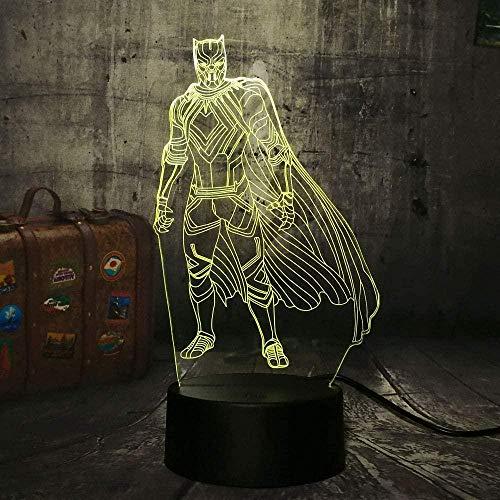 3D Illusion Lampdeer Hoorn Stereo Map Touch Kinderen Volwassen Thuis Decoratie Vakantie Geschenken
