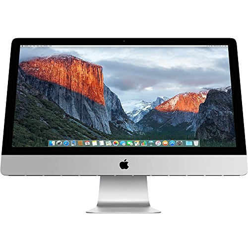 Apple iMac MK472LL/A 27-Inch Retina 5K Desktop (3.2 GHz Intel Core i5, 8GB DDR3, 1TB, Mac OS X) (Refurbished)