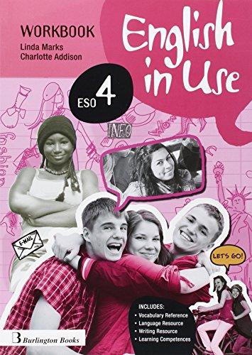 English in use, 4 ESO. Workbook
