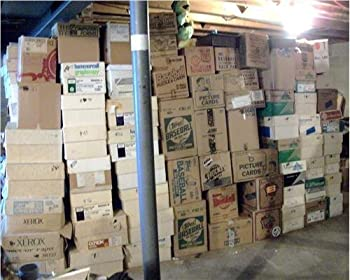 HOCKEY CARD STORAGE UNIT AUCTION FIND ~ INVESTMENT LOT OF 100 CARDS LOADED WITH STARS & ROOKIES