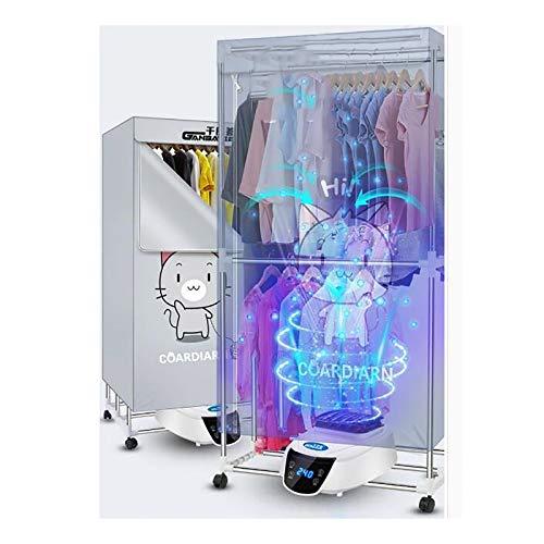 REXX Asciugabiancheria Ventilato L'asciugatrice per Interni Ad Alta Efficienza Energetica Asciugatura Ad Aria Calda Asciugatrice Silenziosa Scaldabagno Elettrica Multiuso 5 Specifiche