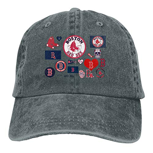 G-III Sports Boston Red Sox Retro Sports Denim Cap Adjustable Snapback Casquettes Unisex Plain Baseball Cowboy Hat