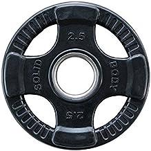 Olympische Halterschijf 50 mm - Body-Solid ORTK2-50 - 2,50 kg - Rubber