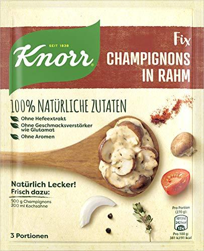 Knorr Natürlich Lecker Champignons in Rahm Fix 3 Portionen (19 x 32 g)