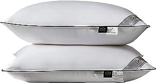 Oreillers pour dormir, oreillers de lit Lot de 2 oreillers de qualité hôtelière, oreillers hypoallergéniques alternatifs e...