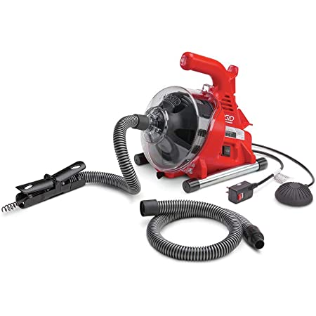250W Drain Cleaner Electric Drain Cleaning Machine Pipe Drain Spirals Cleaner