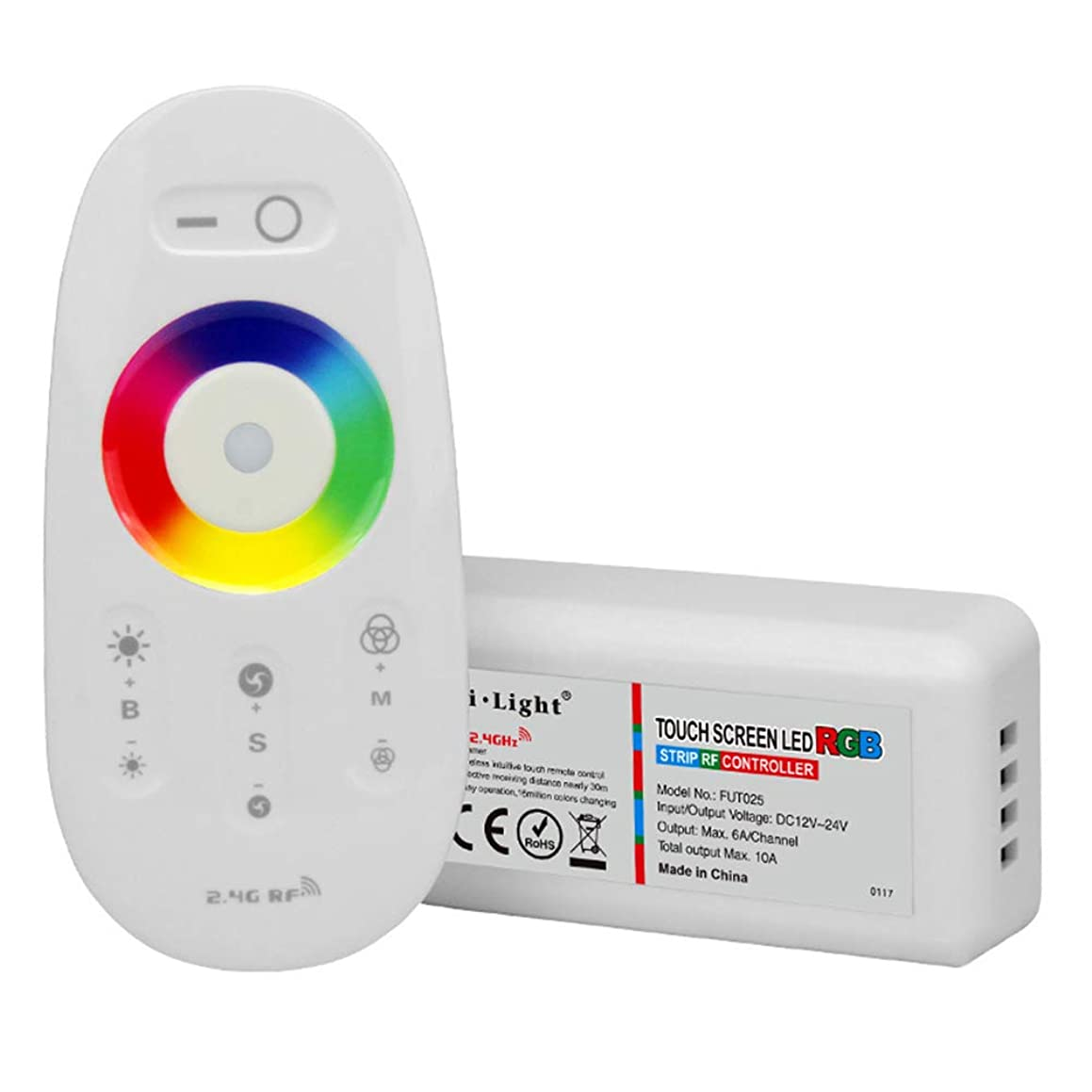 Gyswshh Milight WiFi Remote Dimmer Touch Screen LED RGB Strip RF Light Lamp Controller Random