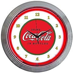 Neonetics Drinks Coca Cola 1910 Classic Neon Wall Clock, 15-Inch