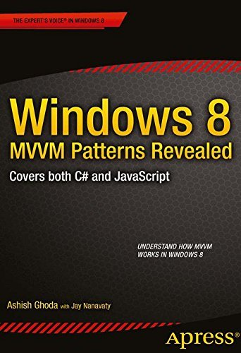 Windows 8 MVVM Patterns Revealed: Covers Both C# and JavaScript (Expert's Voice in Windows 8) by Ashish Ghoda (1-Dec-2012) Paperback