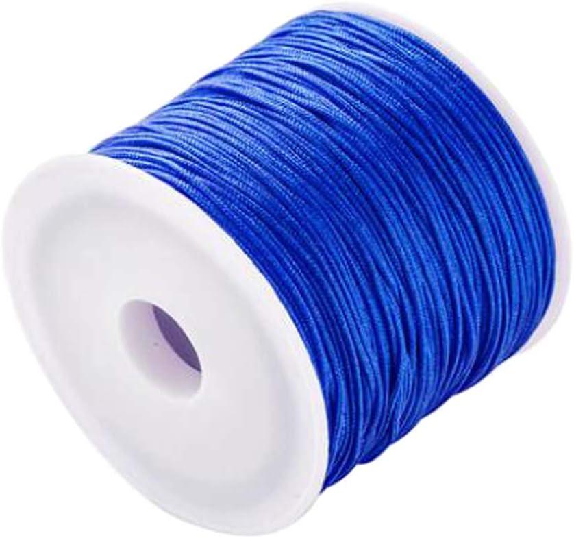 24station Japan Maker New 2 Rolls of NEW before selling ☆ Nylon Knotting Chinese Bracel Cord DIY