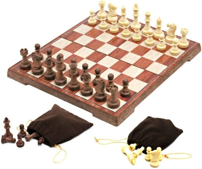NEW XFSHKJS International High quality new Chess Magnetic Ches Plastic Foldable Wood