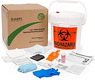 1.25-GALLON SPILL KIT TAKEAWAY RECOVERY SYSTEM - SHARPS-85100