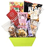 delicious gift basket of gourmet sweets perfect for summer time