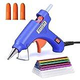 TOPIND Mini Hot Glue Gun with 30-Pcs Glue Sticks and 10-Pcs Finger Protectors,High Temperature Craft Hot Glue Gun Kit,20W