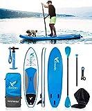 Freein Stand-Up Paddle Board Gonfiabile SUP 10 '/ 10'6 Lungo (con Kit di conversione per K...