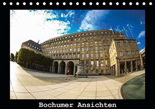 Bochumer Ansichten (Tischkalender 2021 DIN A5 quer)