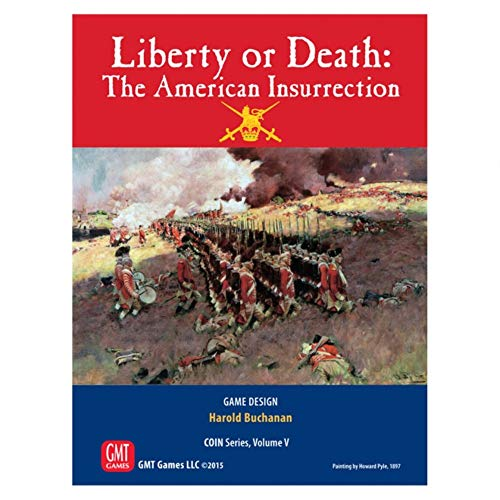 GMT Games GMT1508 Liberty or Death: The American Insurrection (Coin), Mehrfarbig