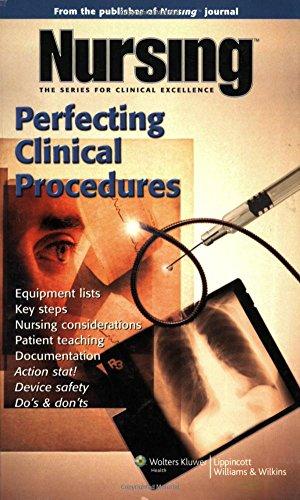 Perfecting Clinical Procedures (Nursing Journal Series)