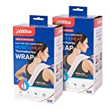 Bed Buddy Heat Pad and Cooling Neck Wrap - Microwave Heating Pad for Sore Muscles - Cold Wrap Pack for Aches and Pain, 2 Pack