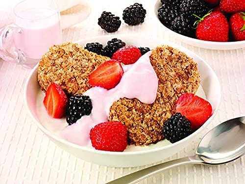 Weetabix Original Whole Grain - Cereales para el desayuno - Cereales integrales - Alto contenido de...