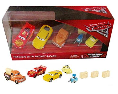 Disney/Pixar Cars 3 Thomasville Legends Training with Smokey 5-Pack (Includes Cruz Ramirez)