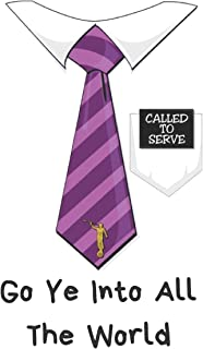"""Called To Serve - Go Ye Into All The World: A LDS Notebook (6.0"""" x 9.0"""") For The Missionary In Your Life"""