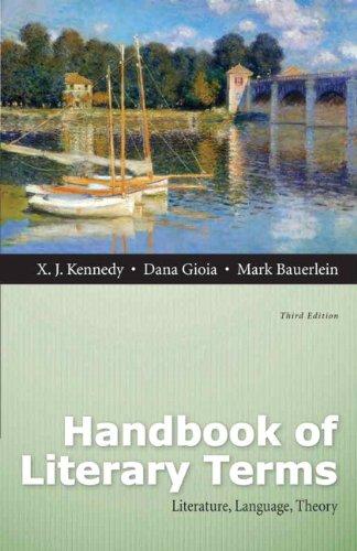 Handbook of Literary Terms: Literature, Language, Theory (3rd Edition)