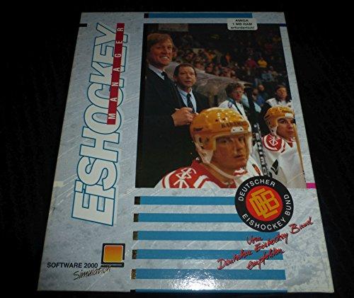Eishockey Manager Amiga Software 2000 Commodore Retro Spiel Klassiker Software 2000 Eishockymanager