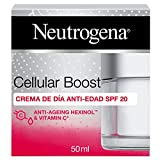 Neutrogena Cellular Boost Crema de Día Antiedad SPF 20 con Vitamina C, Para la Cara y el Cuello, 50 ml