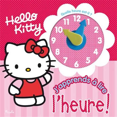 Hello Kitty/j'apprends à lire l'heure !
