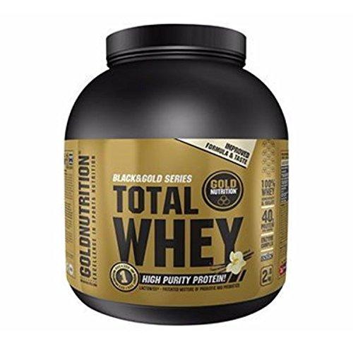 Gold Nutrition Suero De Leche Total 2kg Fresa
