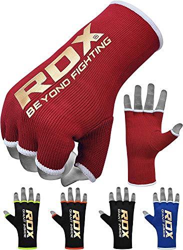 RDX Boxbandagen Elastisch Boxen Innenhandschuhe MMA Handschuhe Daumenschlaufe (MEHRWEG)