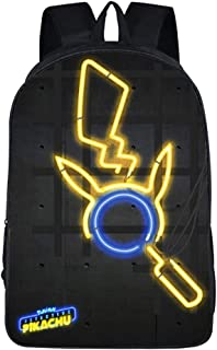 3469853a322301 Carino Pikachu Pokémon Zaino Scuola Borse Leggero per Bambini Zaino per  Ragazze Adolescenti Ragazzi Laptop Zaino