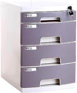 CHQUAN Armoire de fichier Armoire Plastique Armoire de Bureau boîte de Rangement de Bureau Meubles de Bureau Armoire Grand...
