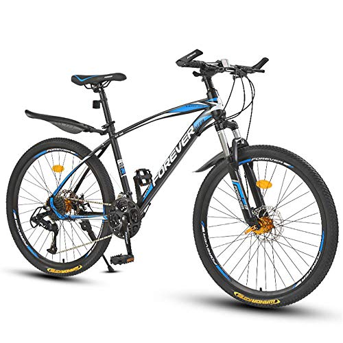 WYX Mountain Bike Carbon Steel Der Rahmen 21/24 / 27/30 Geschwindigkeit 24/26 Zoll-Rad MTB Fahrrad Outdoor Sports Downhill Bicicleta,a,26