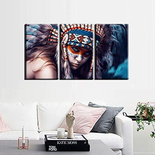 Indian paintings on canvas _image4