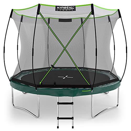 Kinetic Sports Gartentrampolin TBSE1000, 305 cm, grün