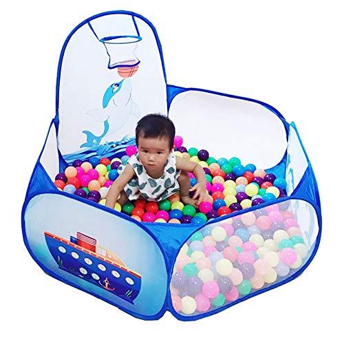 Byakns Parque Infantil de bebé Plegable portátil Corrales Juego de la Piscina de Bolas Pit niño al Aire Libre de Interior Ball Pool Tienda del Juego de los Regalos de los niños Seguro for los niños