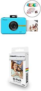 Polaroid Snap Touch 2.0 - Cámara Digital portátil instantánea Azul + Paquete de 50 Hojas