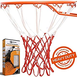 BETTERLINE Heavy Duty Basketball Net Replacement - All-Weather Thick Nets Fit Standard Indoor and Outdoor 12-Loop Rims