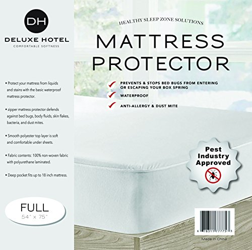 Ultimate Zippered Mattress Protector (Full)