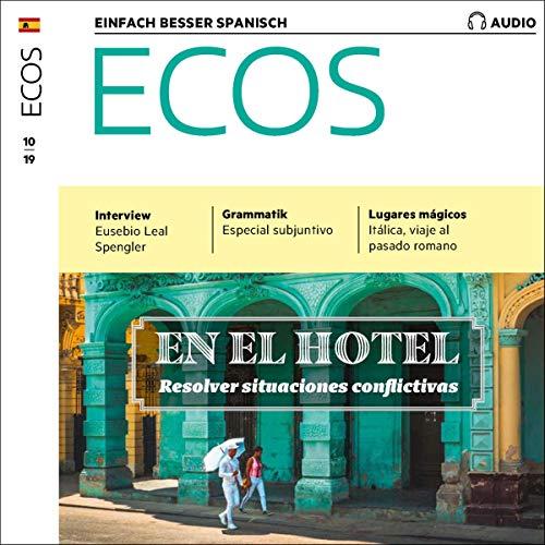 ECOS Audio - En el hotel: Resolver situaciones conflictivas. 10/2019 Titelbild