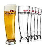 Störtebeker Biergläser 0,3 l | 6 Weizengläser im Sydney Segelglas Design | Weizenbiergläser 0,3 l | Störtebeker Gläser als tolles Bier Geschenk